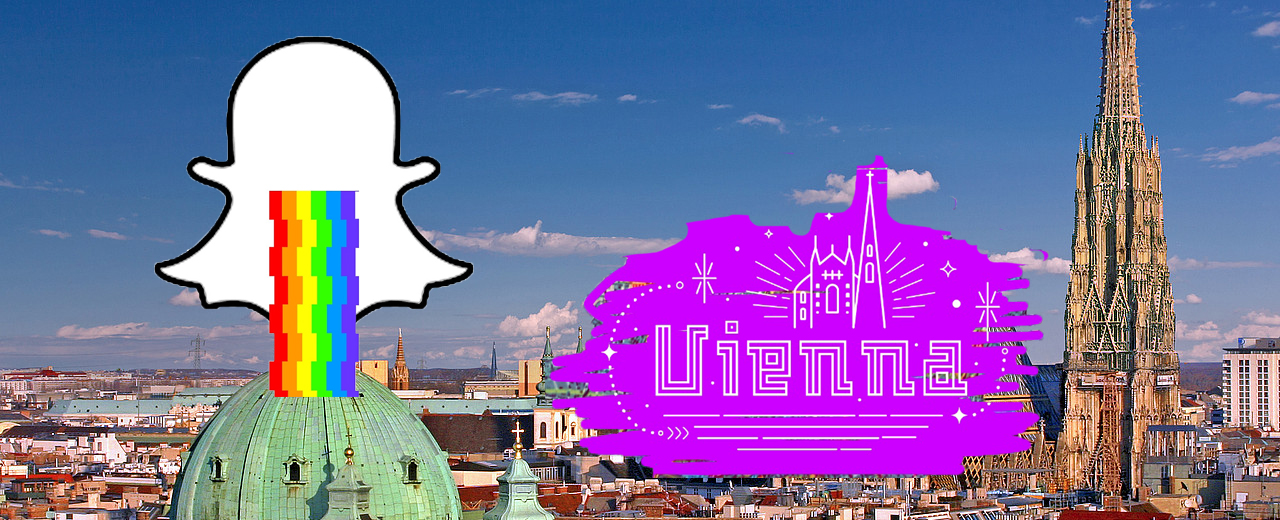 Snapchat Geotags Wien, c Magdalena Hiller