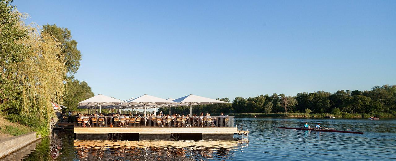 Alte Donau Lokale